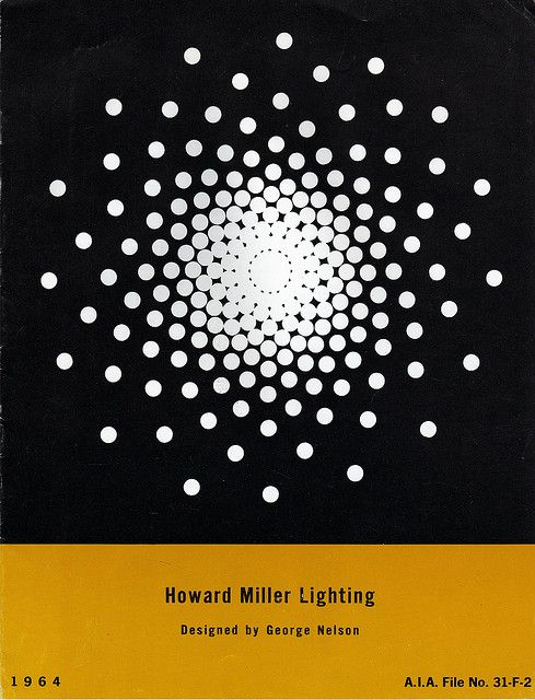 A 1964 HOWARD MILLER LIGHTING CATALOG FEATURING GEORGE NELSON'S BUBBLE LAMP DESIGNS, WITH 1964 PRICING!
