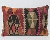 16x24 homeland kilim pillow sarapes lumbar pillow large throw pillow rustic bedding kilim ottoman rustic pillow sham outdoor pillows 26143