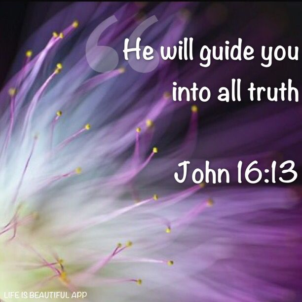 Holy Spirit, the anointing and all his gifts, He really does GUIDE HIS CHILDREN INTO ALL TRUTH. No matter how long it's been hidden, in plain sight.