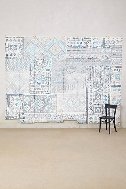 17 best images about wallpaper on pinterest u part pip for Anthropologie wallpaper mural