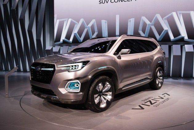 Subaru Viziv-7 first look: Subaru's large SUV is coming to dominate the U.S.