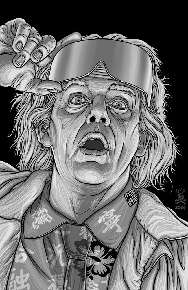 Doc Brown - Back to the Future - quasilucid