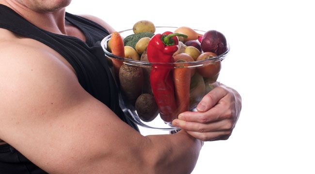 Ways to eat healthy and gain muscle