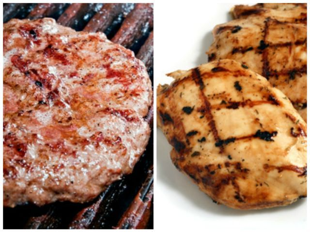 Beef or chicken?