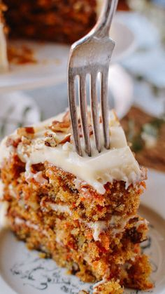 The only carrot cake recipe you will ever need