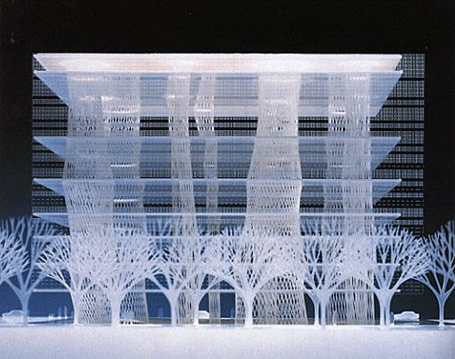 Toyo Ito / Sendai Mediatheque (Library), Sendai, Japan, 1997-2000