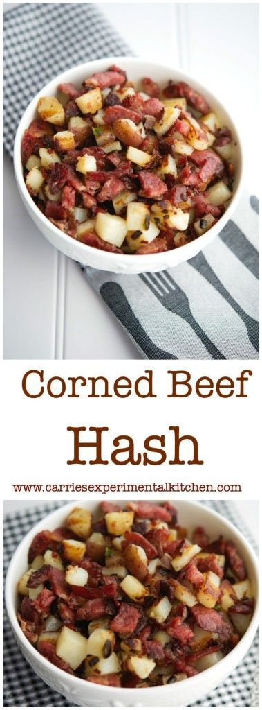 Corned Beef Hash is the perfect use for St. Patrick's Day leftovers.