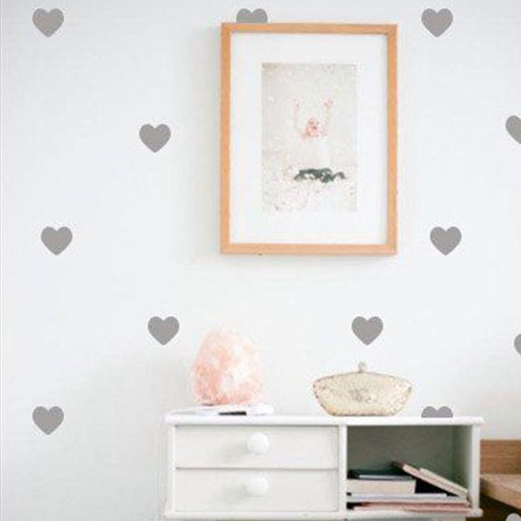 Habitación en gris con #corazones https://dolcevinilo.es/vinilo-corazones #habitacion #habitaciones #infantil #infantiles #bebe #ideas #decoracion #pared #vinilo #vinilos #decorativos #vinilosdecorativos #habitacioninfantil #habitacionesinfantiles #habitacionbebe #habitacionesbebe #vinilosdecorativos #vinilosinfantiles #decoracioninfantil #decoracionbebe #niña #niñas