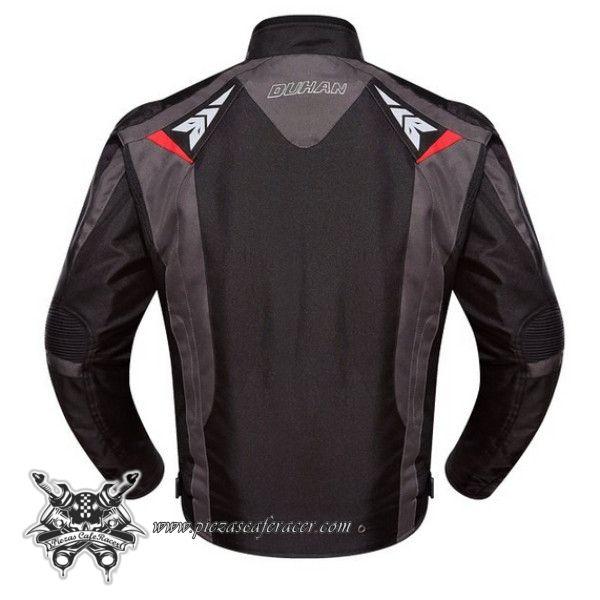 """Chaqueta Sumergible Piloto Moto con Protecciones Fabricada en Cuero Modelo """"LeatherJack"""" Color Negro - 122,77€ - ENVÍO GRATUITO EN TODOS LOS PEDIDOS"""