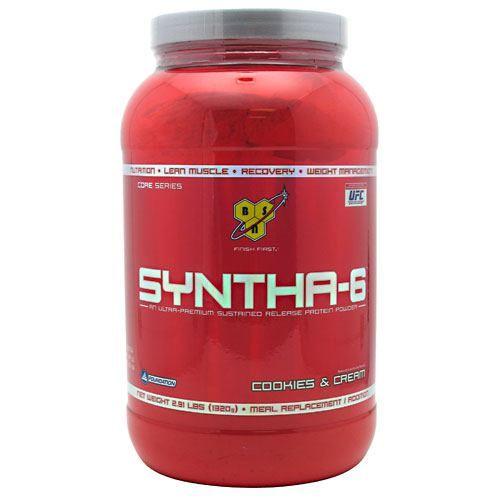 Syntha-6, Cookies and Cream 2.91 lb, BSN, Protein #bodybuilding #sport #sportsnutrition #gym #protein https://monsternbeast.com/shop/syntha-6-cookies-and-cream-2-91-lb-bsn-protein/