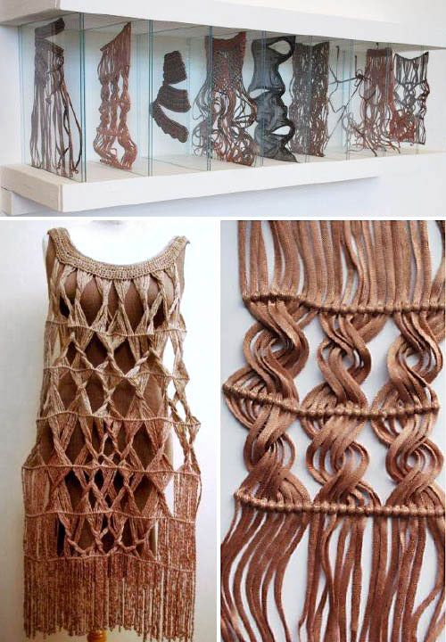 Kate noden textile arts pinterest macrame and for Abstract salon tucson