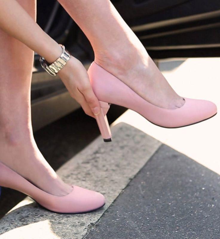 Les chaussures à talons amovibles débarquent bientôt sur le marché ! - Cosmopolitan.fr