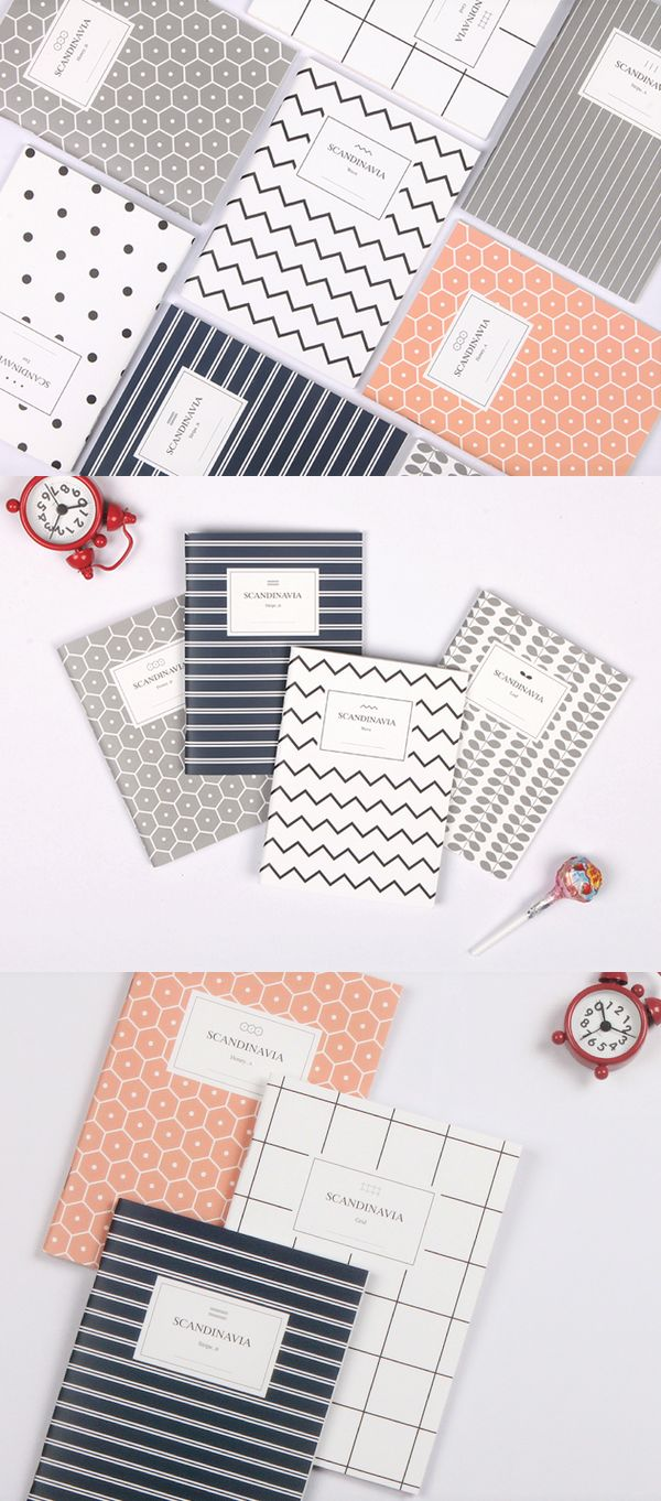 The Scandinavia Notebook is a handy notebook for those who need to make quick note anytime anywhere!