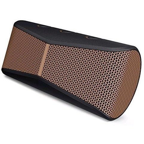 Logitech X300 Mobile Wireless Stereo Speaker Copper Black 984-000392