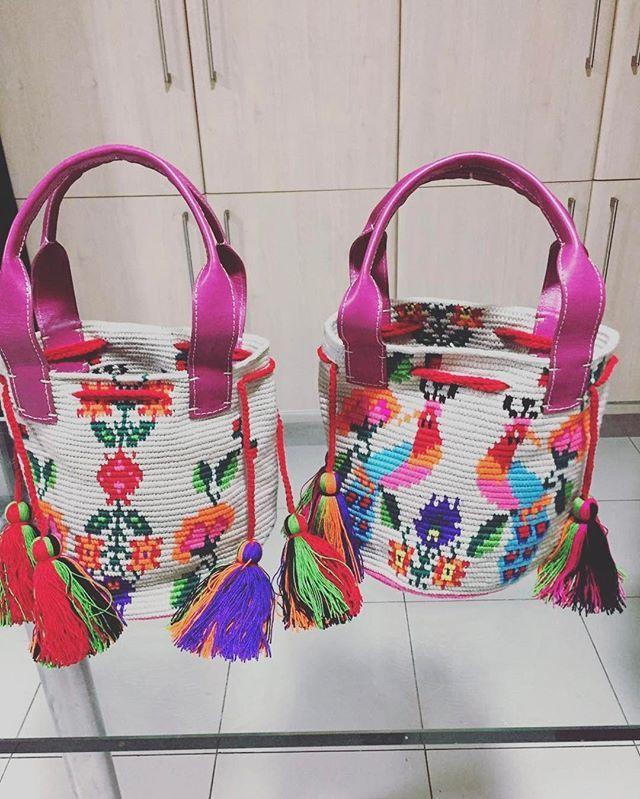 Back to basics circa 2015! An oldie but a newbie! ❤ good morning world!  . . . . . #mochibcn #igersbcn #mochilas #wayuubag #notawayuu #fairtrade #handmade #ethicalfashion #colors #spring #roosters