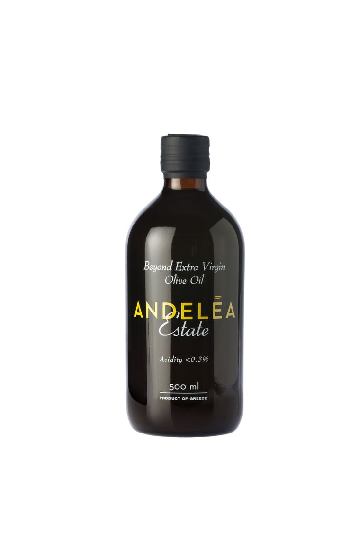 Andelea Estate Premium Extra Virgin Olive Oil - Premium Packaging
