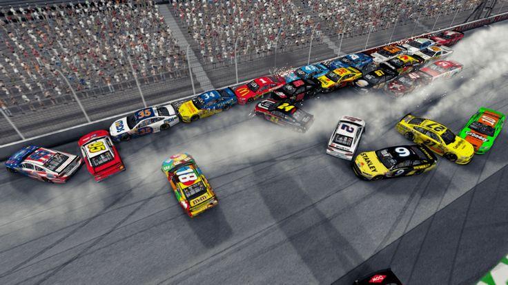 Nascar 2015 PC como deporte es normalmente sólo abrazado por los residentes de América del Norte, como juegos de NASCAR han sido bastante buenos.