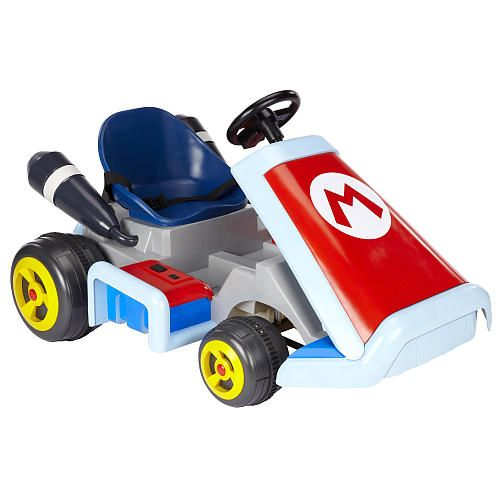 Super Mario Kart Ride On Vehicle - my son would loveeee this! He's obsessed with Mario haha