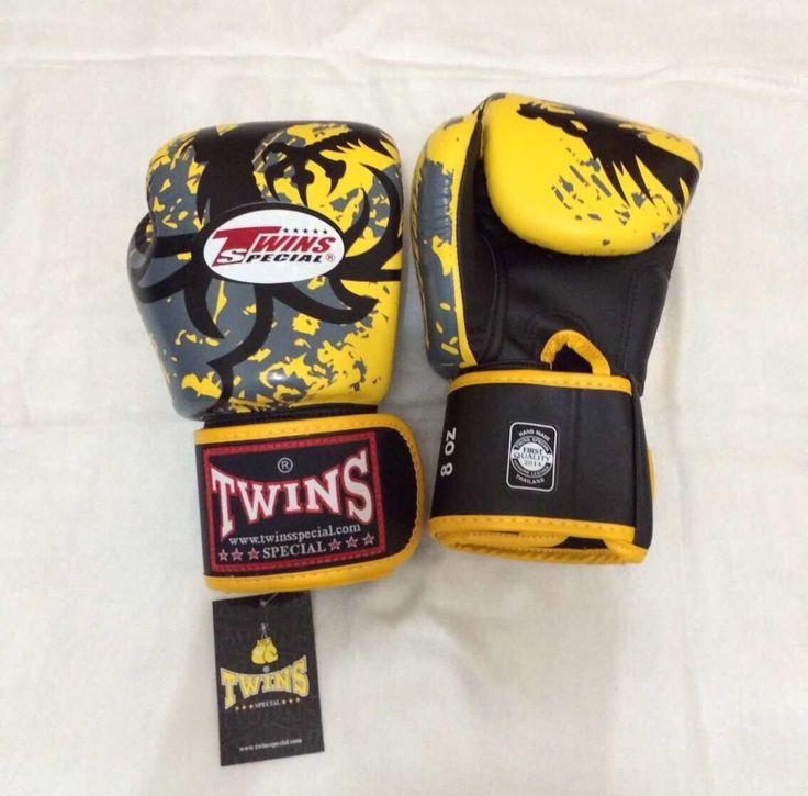 TWINS Dragon Tribal Yellow Twins Special Premium Leather  Made in Thailand  Size & Price: -   8oz: IDR 800,000.00 - 10oz: IDR 850,000.00 - 12oz: IDR 900,000.00 - 14oz: IDR 950,000.00  Contact: BOXAH Email: info@boxah.com Web: www.boxah.com Instagram: Boxahid Whatsapp: +6281295058111 BBM: 2B0D591A