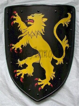 coat of arms, the principal part of a system of hereditary symbols dating back to early medieval Europe, used primarily to establish identity in battle. Coat of arms with lion.