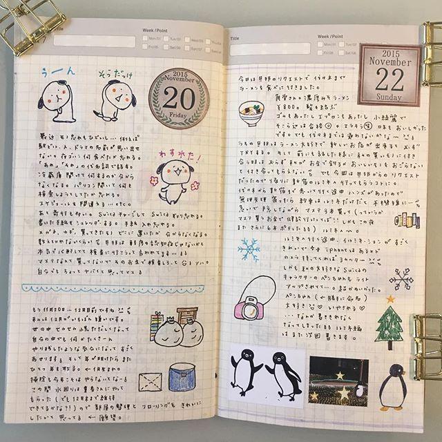 20日と22日の日記。最近モノ忘れがひどいというか…認知症?と思うコトが…。そして代々木でラーメン食べ〜の新宿に行く間には魅惑のハンズが!! #トラベラーズノート #日記  #手帳 #手帳ゆる友 #てはさんの日付シート #マステ