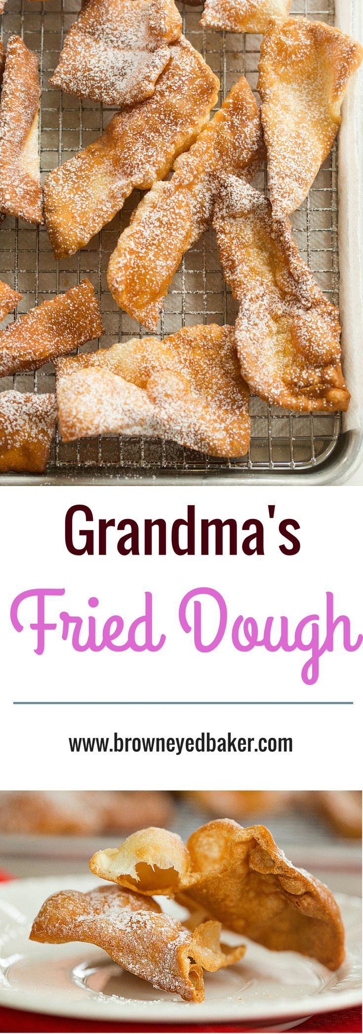 My grandma's recipe for fried dough - an Easter tradition! | browneyedbaker.com