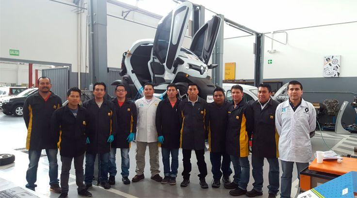 Renault capacita a sus técnicos en vehículos eléctricos http://automagazine.ec/