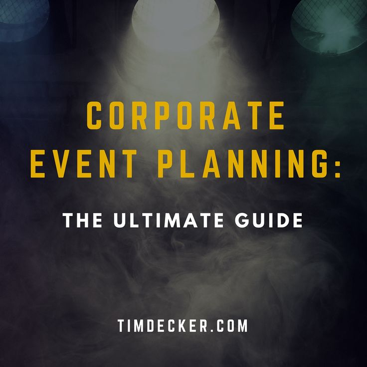 Freelancer's Guide to Corporate Event Design : From ...