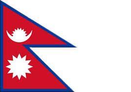 Resultado de imagem para bandeira nepal