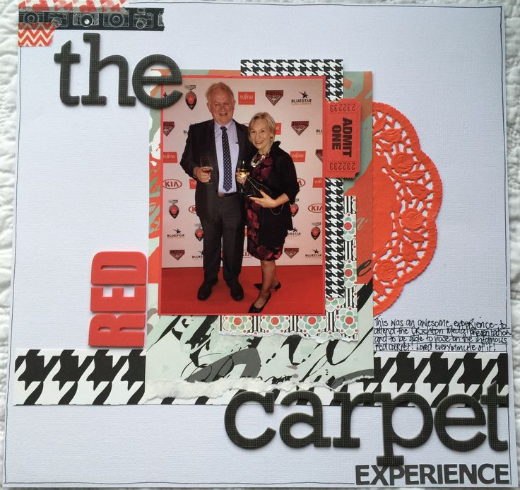 The Red Carpet Experience 12x12
