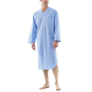 jcp | Stafford® Woven Long-Sleeve Nightshirt
