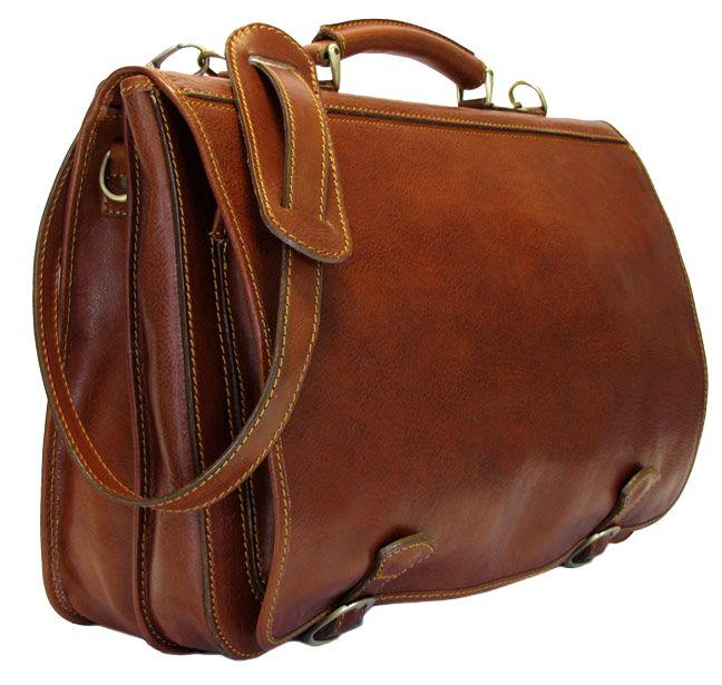 2c10d19fdb19 Piazza Men s Leather Messenger Bag - Fenzo Italian Bags