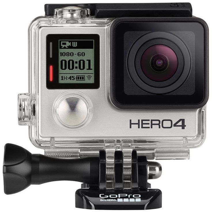 GoPro Hero4 Edition 12MP 4K Touch Display Action Camera with Wi-Fi