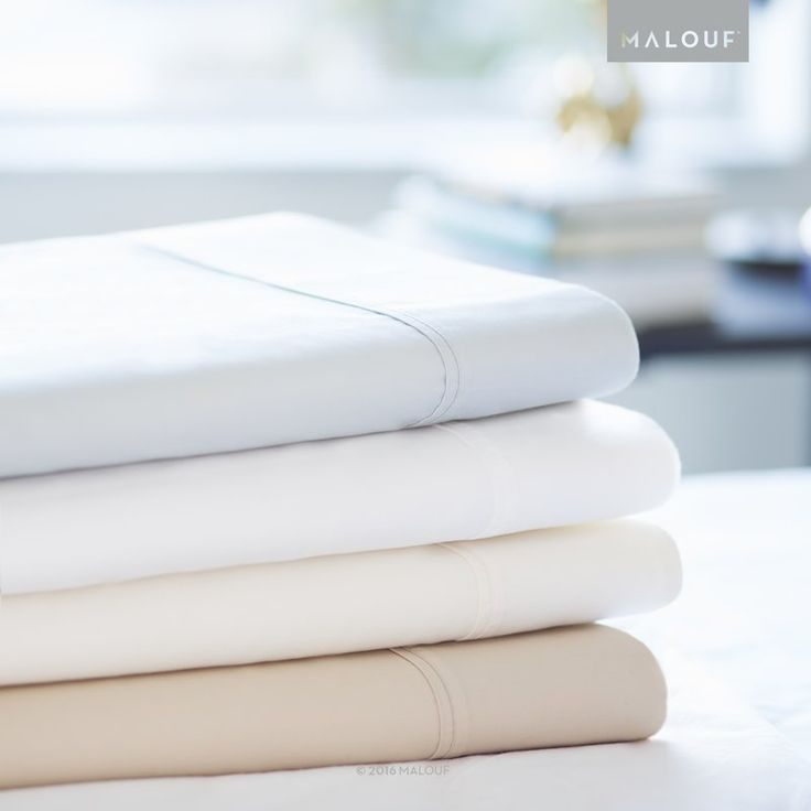 These beautiful 600 thread count sheets have a unique two-sided weave design that features raised cotton threads on one side and raised poly threads on the other. The result is bedding that has the cozy feel and classic look of pure cotton on one side. Combine that with the wrinkle resistant, easy care benefits of cotton-poly blended bedding, and you have amazing sheets at a great value. To get the comfort of cotton out of your sheet set, make the bed with the soft cotton sides facing…