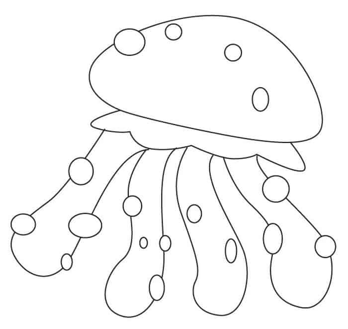 Cute Jellyfish Coloring Pages Abstract Coloring Pages Animal Coloring Pages Free Printable Coloring Pages