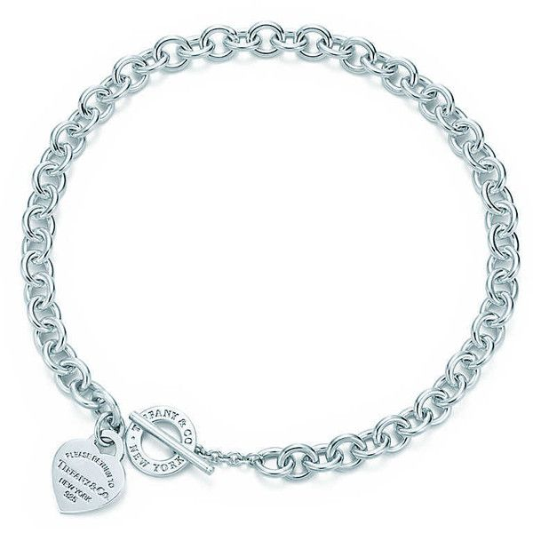 Return to Tiffany® Heart Tag Toggle Necklace ($525) ❤ liked on Polyvore featuring jewelry, necklaces, tiffany, bracelets, long sterling silver necklace, sterling silver heart jewelry, tiffany co necklace, heart jewelry and long heart necklace