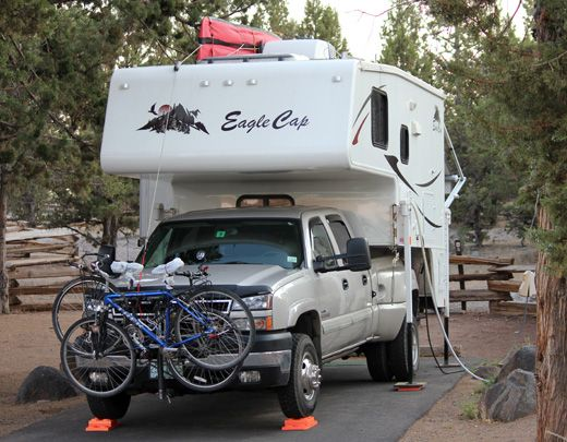 Bike Solutions and Bicycle Racks For Truck Campers