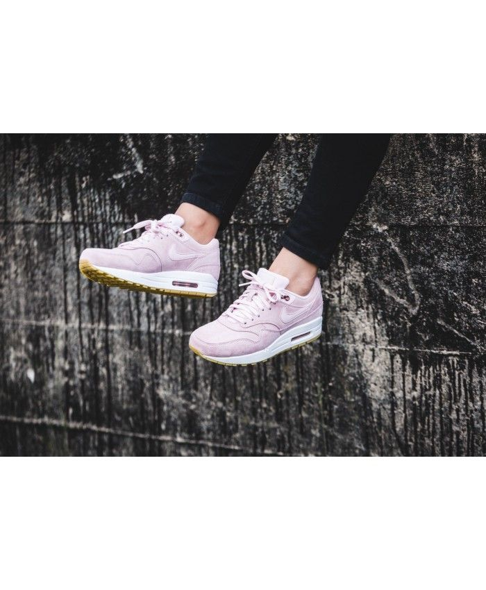 cf57666c9f7 Nike Air Max 1 SD Prism Pink/White/Gum Light Brown Women's Shoes ...