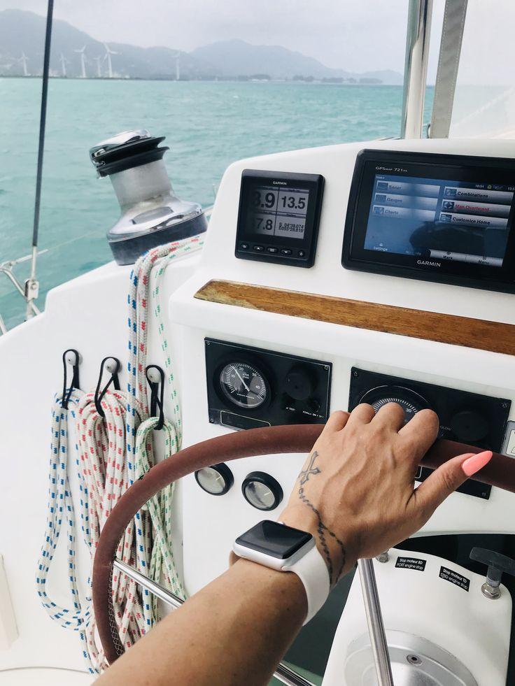 Sailing - yacht days.