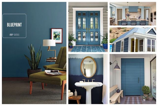 2019 Behr Color Of The Year Blueprint S470 5 Paint Me