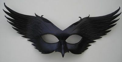 leather mask made by Donovan Soland