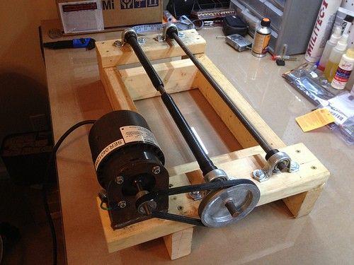 17 melhores ideias sobre projetos dremel no pinterest dremel for Diy rock tumbler motor