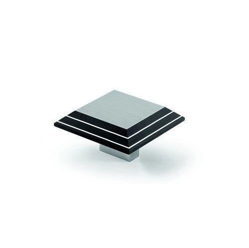 Handles 4 Homes Ltd - Hettich Prodecor Spezia Stainless Steel / Black Deluxe Cabinet Knob, �11.90 (http://www.handles4homes.co.uk/hettich-prodecor-spezia-stainless-steel-black-deluxe-cabinet-knob/)