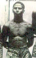 Juan Evangelista Venegas, men's boxing 1948. First Puerto Rican to win an Olympic medal.