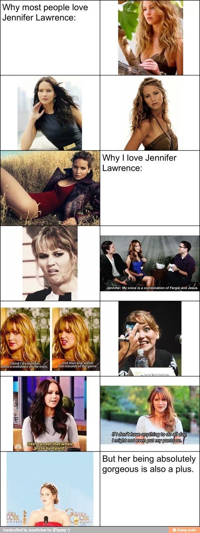 Jennifer Lawrence:) best actress ever!