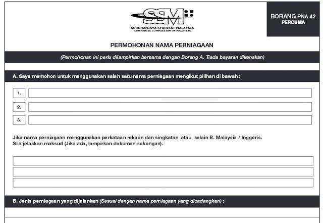 Cara Daftar Perniagaan Di Ssm Suruhanjaya Syarikat Malaysia Malaysia Skin Care Routine Cara