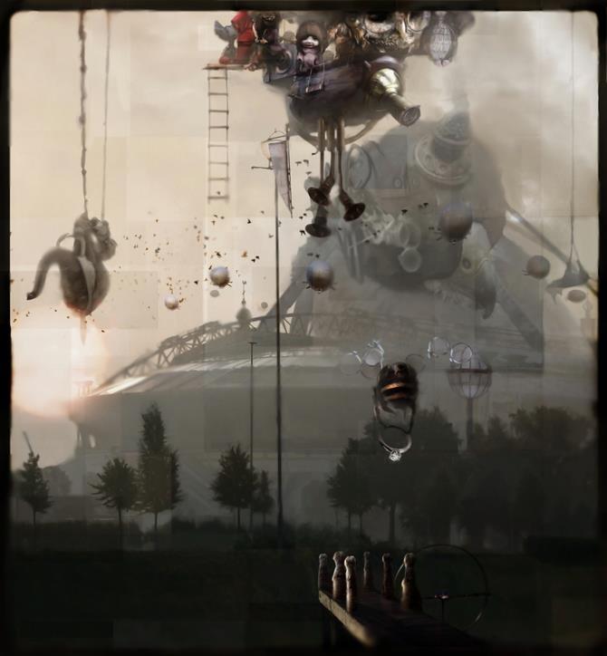 #Steampunk Tendencies   Art of Chris Berens