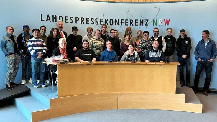 Duisburger Werkkiste besucht im Landtag Frank Börner