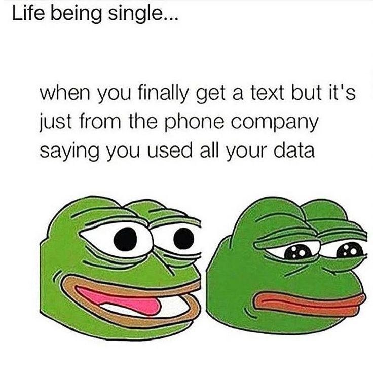 Forever alone  #alone #meme #single #data #company #text #life #gf #girlfriend #bf #boyfriend