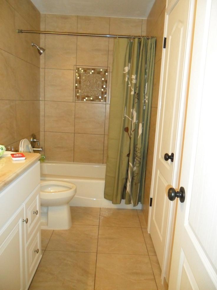 16 Best My Diy Tile Remodels Images On Pinterest Bath Remodel Bathroom Remodeling And